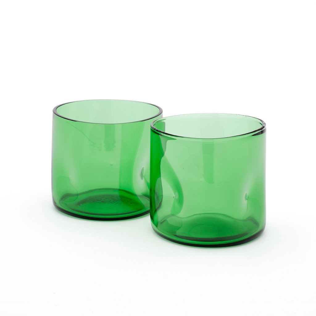 Eligo - Bugnato Low Glass Green  (Glasses) - 3