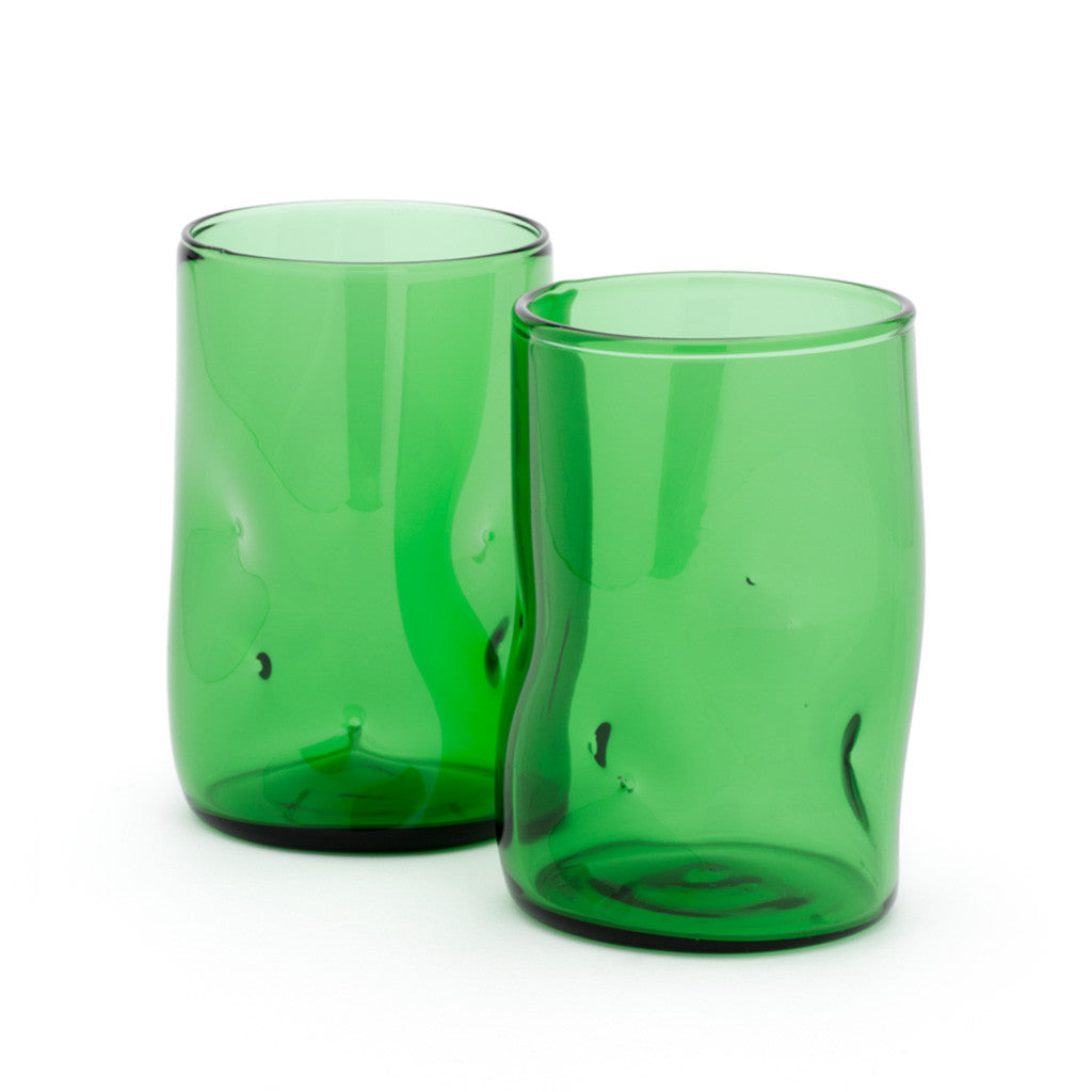 Eligo - Bugnato High Glass Green  (Glasses) - 2