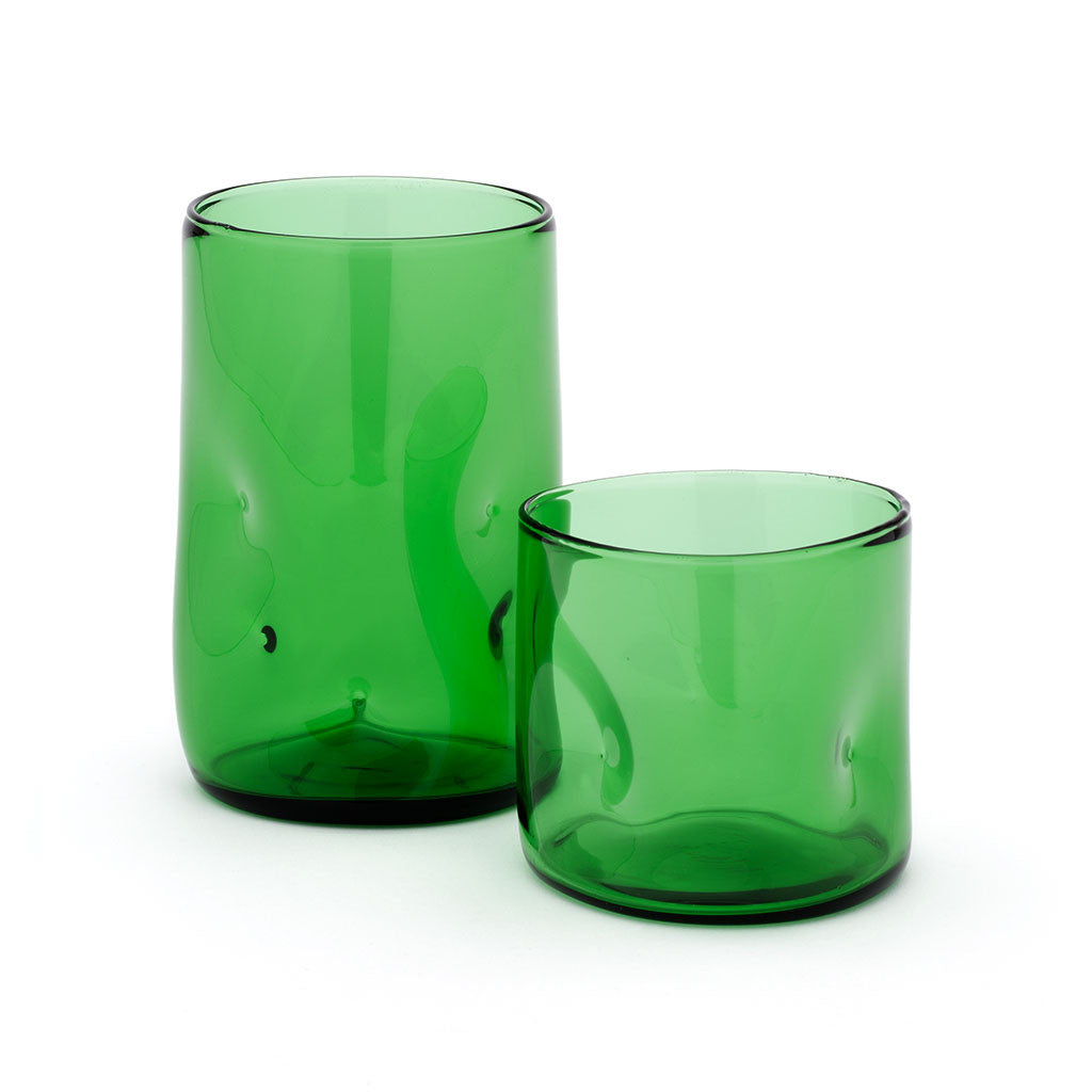 Eligo - Bugnato Low Glass Green  (Glasses) - 2