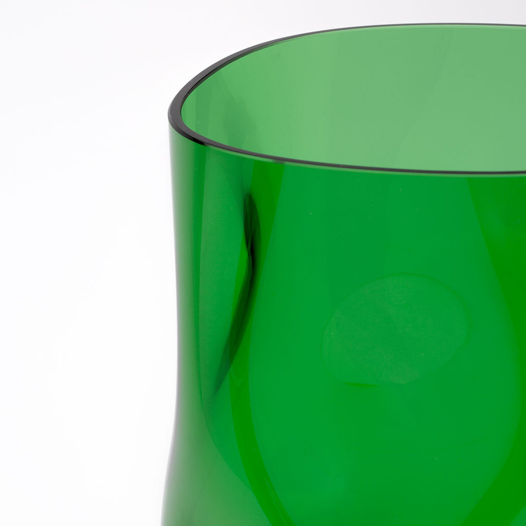 Eligo - Bugnato Small Vase Green  (Glasses) - 2