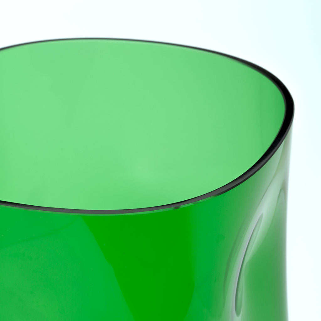 Eligo - Bugnato Small Vase Green  (Glasses) - 3