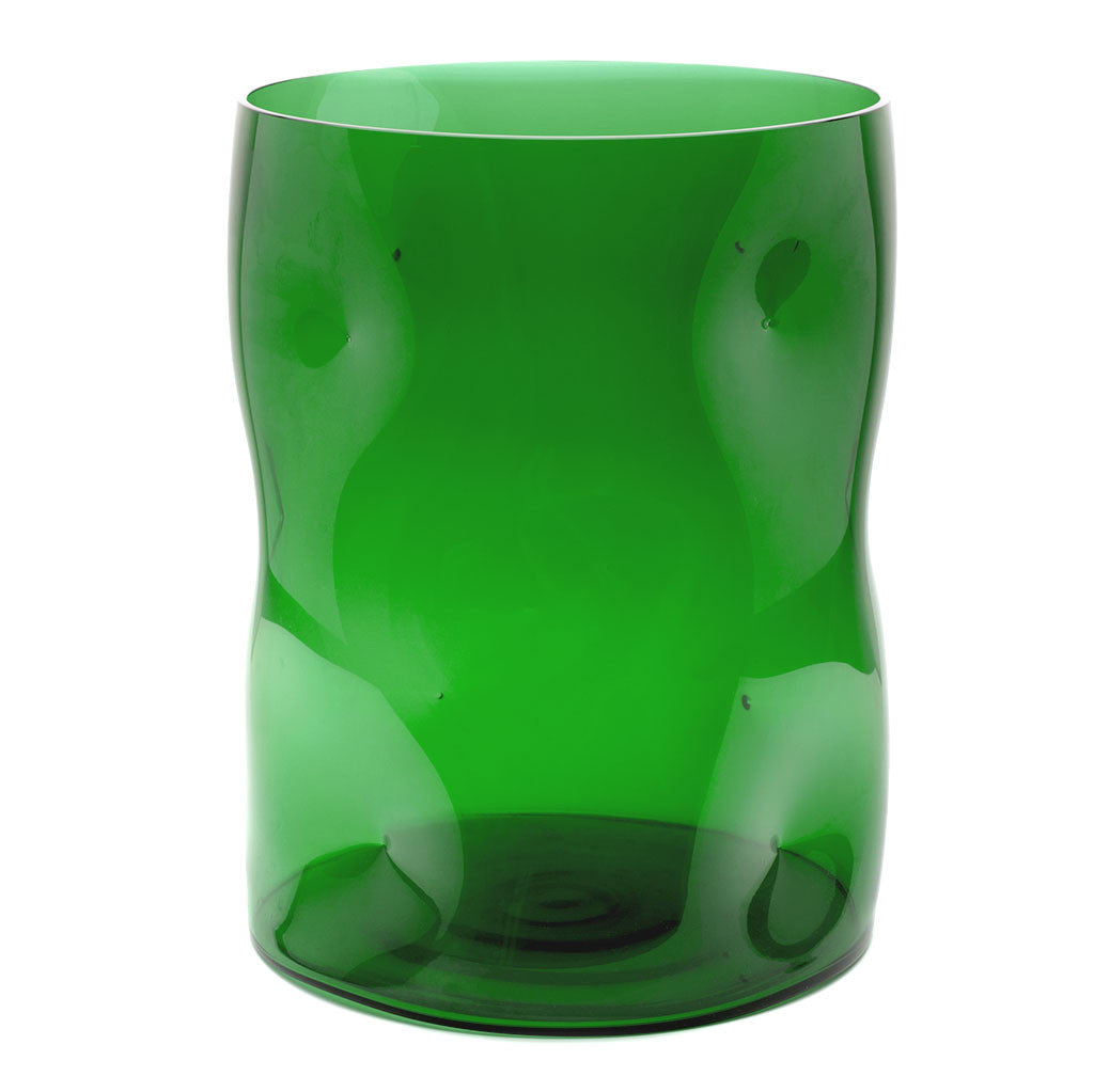 Eligo - Bugnato Large Vase Green  (Glasses) - 1