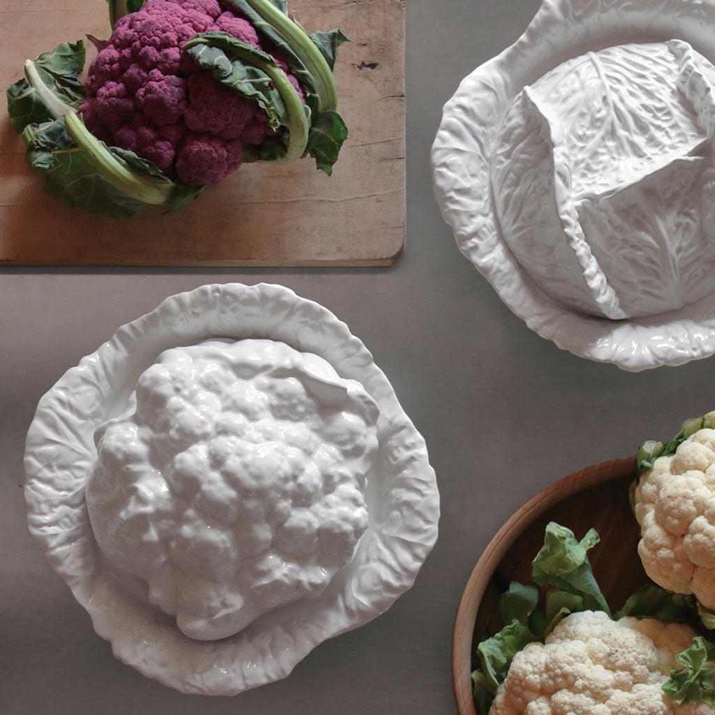 Cauliflower tureen