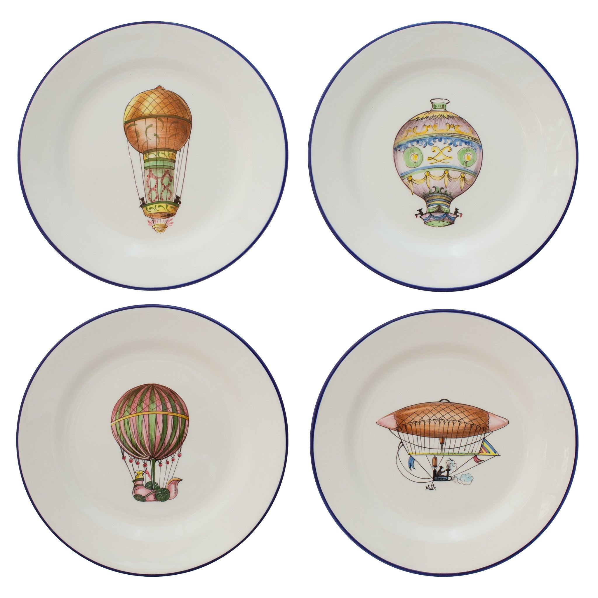 Hot-Air Baloons Plates
