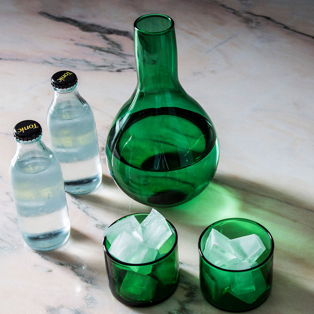 Simple Low Glass Green