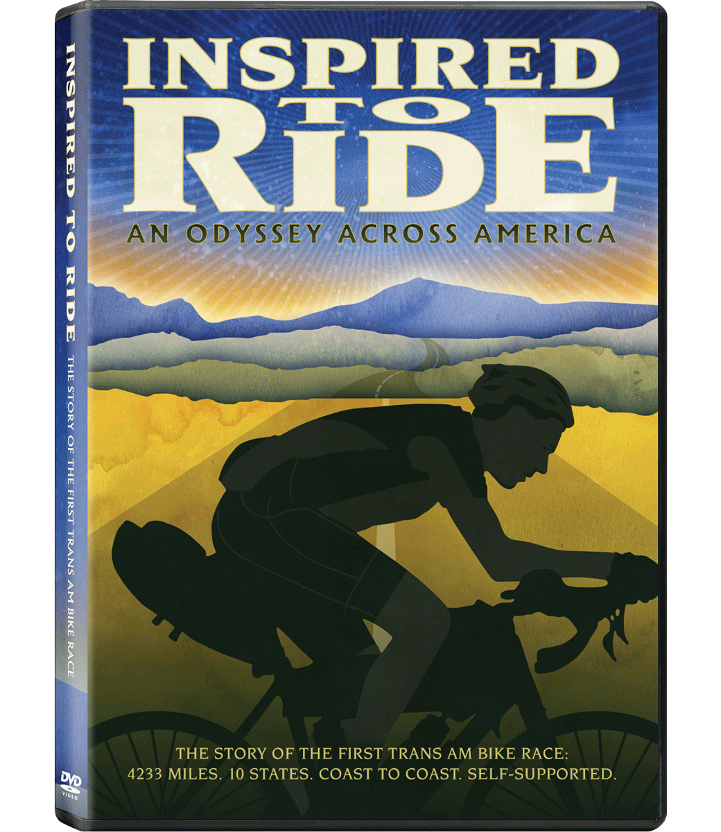 Inspired to Ride Bundle: Disc, T-shirt, Poster + Download