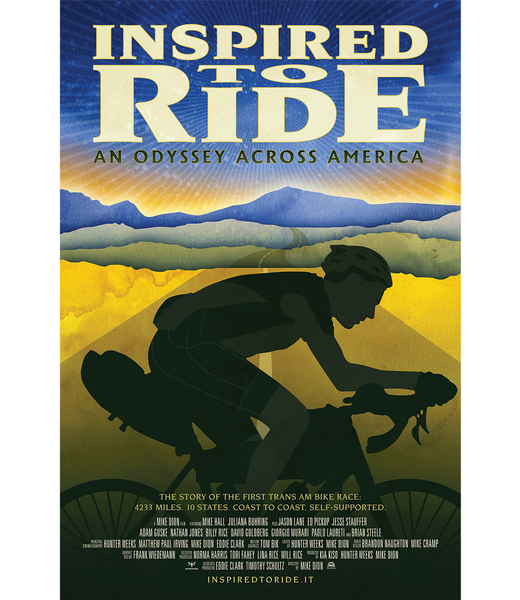 Inspired to Ride Official Poster
