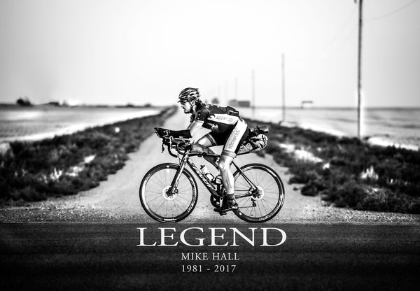 Mike Hall Legend Poster