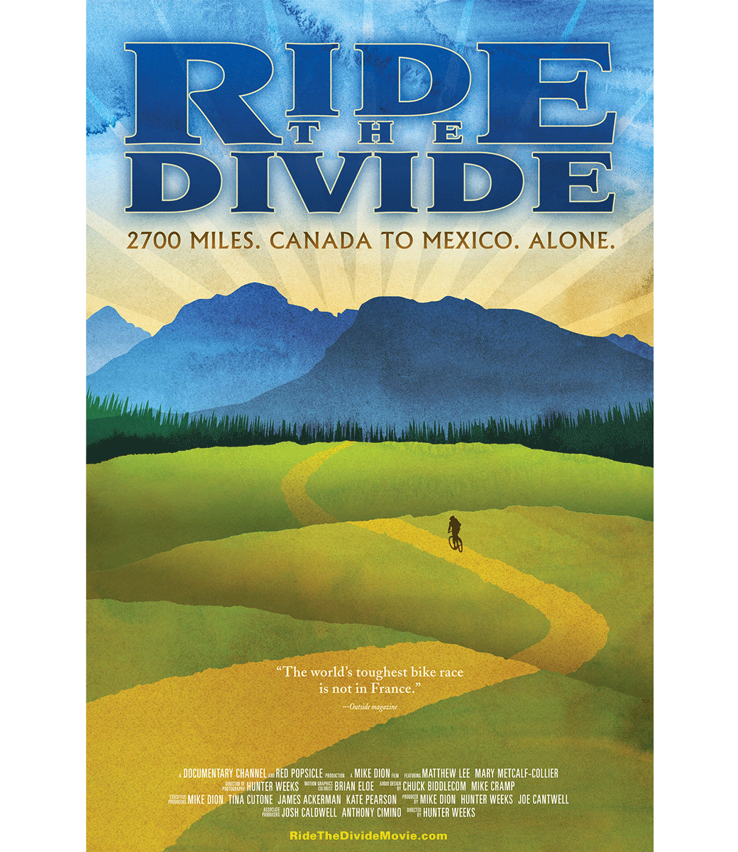 Ride the Divide Official Poster