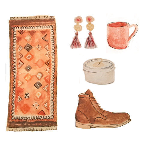 Fall Roundup: a cool rug from our online shop plus.......