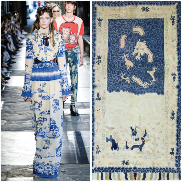 Vintage Rugs to Runway Fashion (Part Two)