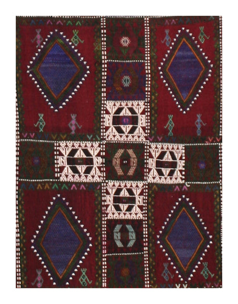 Semi-antique Verneh Kilim