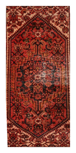 Paprika Antique Hamadan Rug