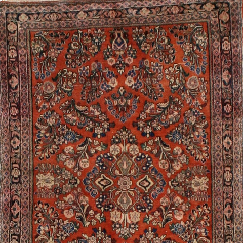 Burnished Copper Antique Sarouk