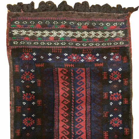 Decorative Tribal Saddle Bag