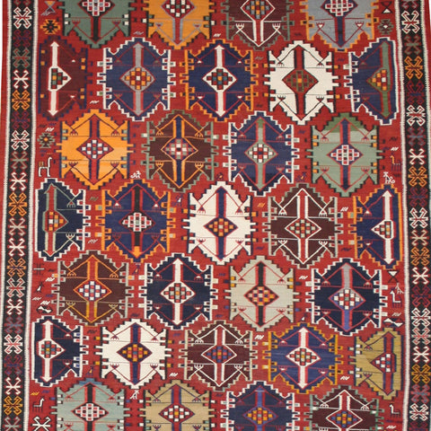 Large Persian Shirvan Kilim