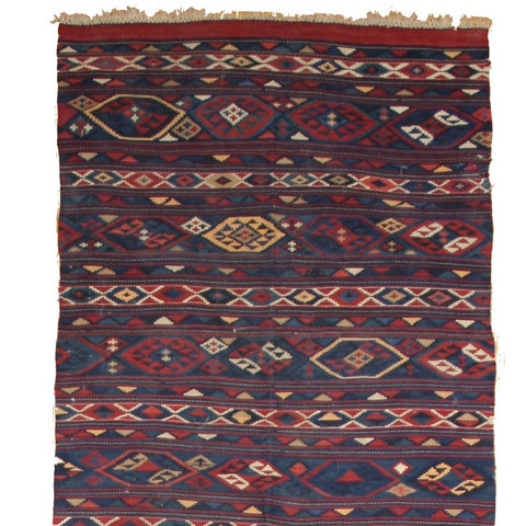 Semi Antique Baki Kilim