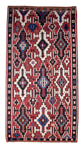 Large Kuba Kilim Collector