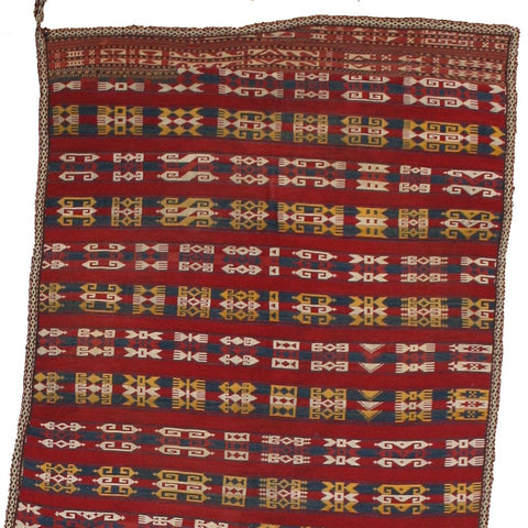 Colorful Ghudjeri Horse Blanket