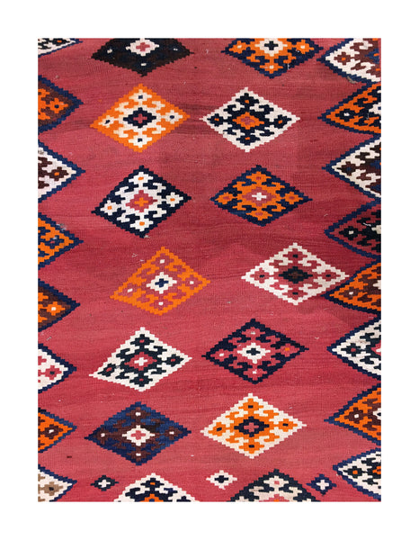 Semi-Antique Tribal Kilim