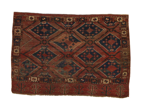 Antique Tribal Turkoman Textile Art