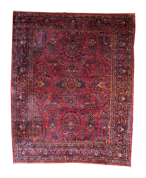 Room-size Antique Sarouk