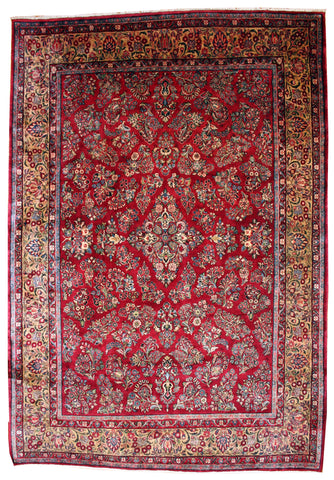 Room Size Antique Sarouk