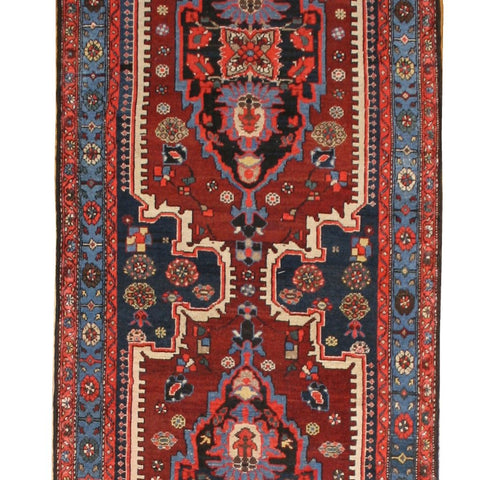 Large Vintage Persian Runner