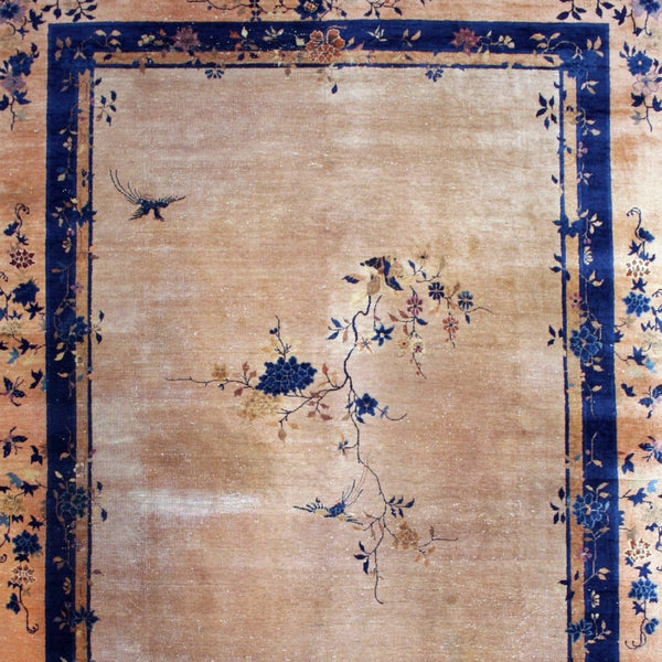Room-size Antique Chinese Rug