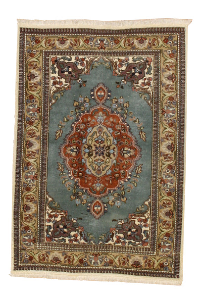Dreamy Blue Persian Rug