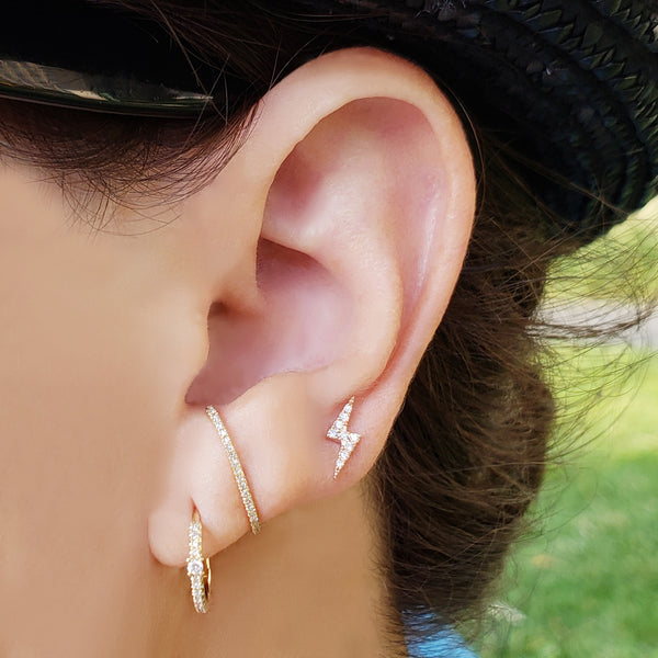 Diamond Ear Band - Designer Earrings - The EarStylist by Jo Nayor