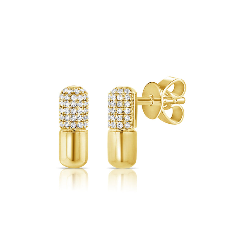 Chill Pill Earring - Designer Earrings - The EarStylist by Jo Nayor