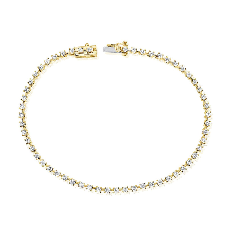 Diamond Tennis Bracelet - Designer Earrings - The EarStylist by Jo Nayor