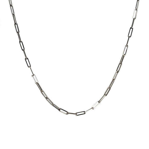 14K Gold Long Link Chain Necklace - The Ear Stylist by Jo Nayor