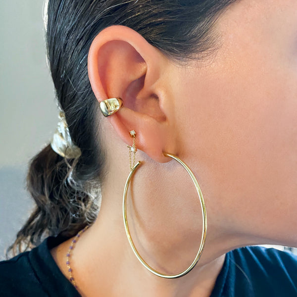 Oro Ear Cuff - Designer Earrings - The EarStylist by Jo Nayor