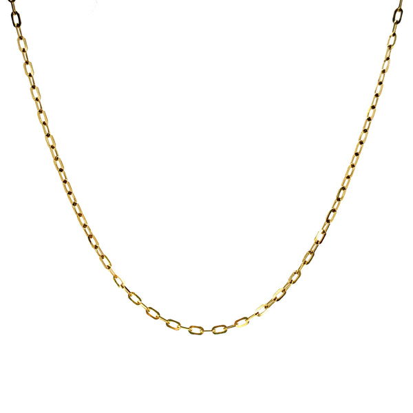 14K Gold Paige Chain Necklace - Designer Earrings - The EarStylist by Jo Nayor