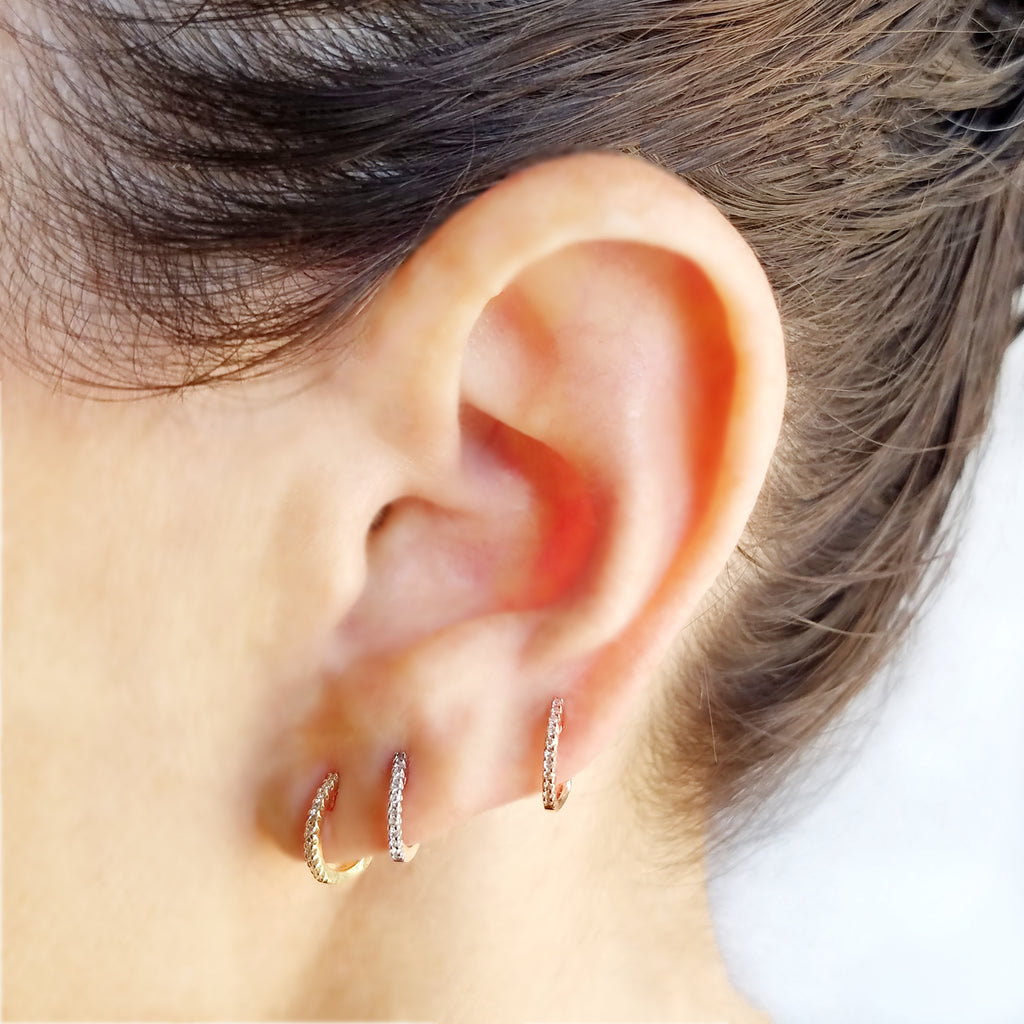 The EarStylist Mini-Hoop Box - Designer Earrings - The EarStylist by Jo Nayor