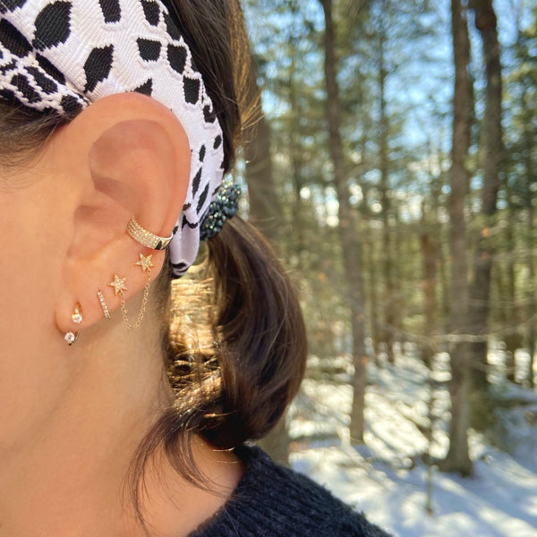 Sutton Ear Cuff - Designer Earrings - The EarStylist by Jo Nayor