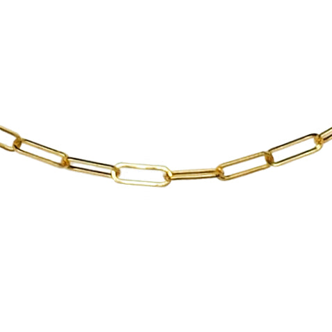 Gold Mini Link Anklet - The Ear Stylist by Jo Nayor