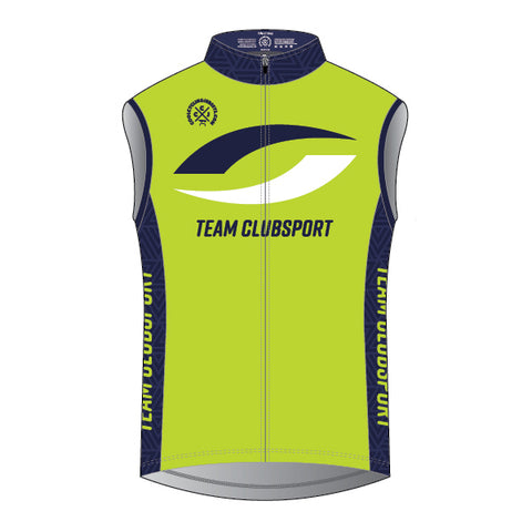TEAM ClubSport Cycling Wind Vest (Unisex)
