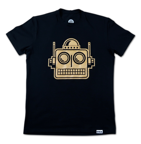 Gold Robot Logo (ADULT)