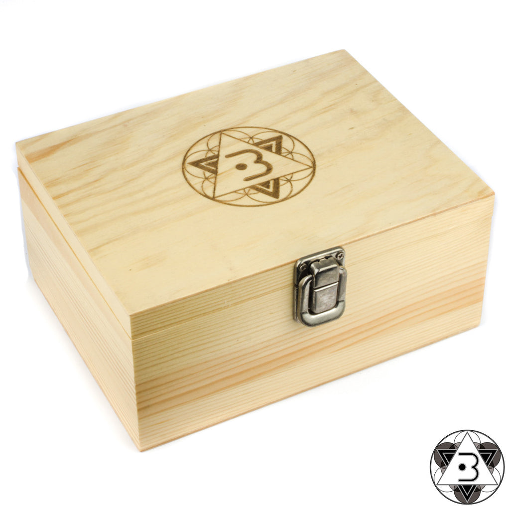 Balance Large Wooden Rolling Box