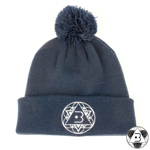 Bobble Hat - Blue
