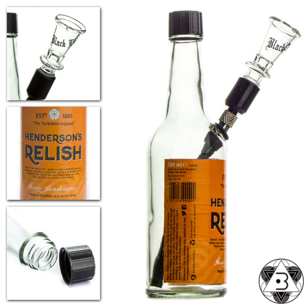 Henderson's Relish Bottle Bong