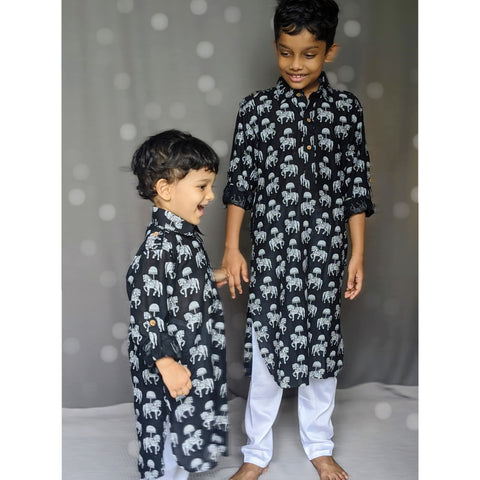 Buy Muslin Kurta Set For Baby