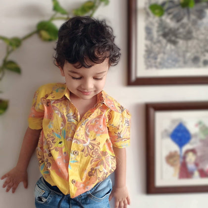 Muslin Shirt for babies and children