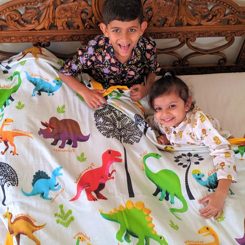 Muslin Blanket - Turasaurus (Junior)