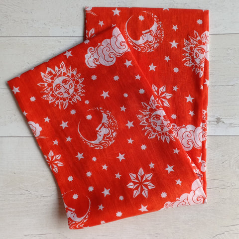 Muslin Swaddle, Extra Large - Nayantaara - Red