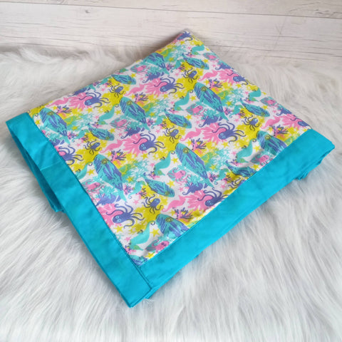 Muslin Blanket - Under The Sea (Junior)