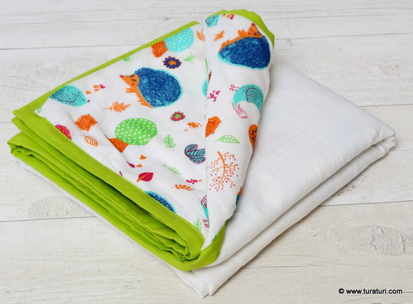 Muslin Baby Blanket - Jungle Theme